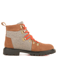 Toms for Women: Summit Rawhide Grey Wool Waterproof Boots