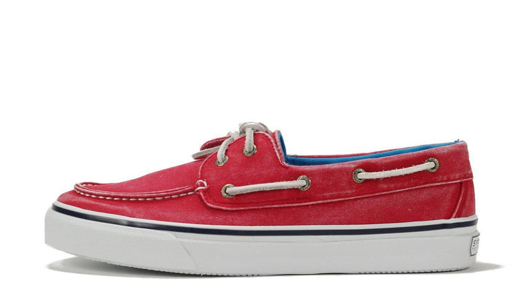 Sperry TopSider: Bahama 2 Eye SW Red Boat Shoe