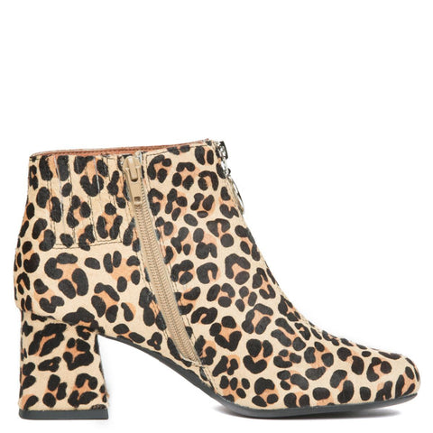 Bossanova-F Cheetah Heeled Booties