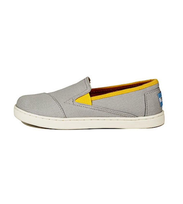 Kids Toms Avalon Grey Canvas
