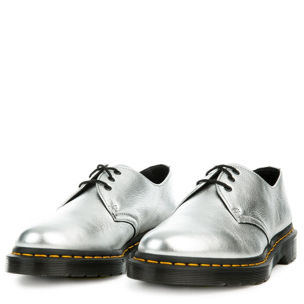 Women's 1461 Metallic Silver Oxford
