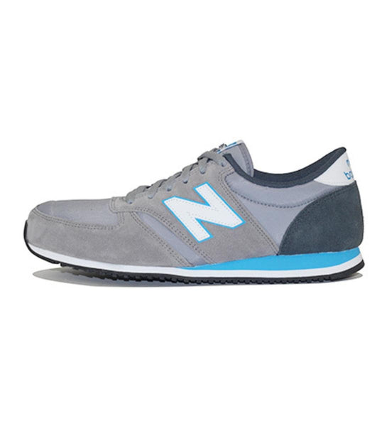 New Balance for Men: 420 70s Running Grey Sneakers