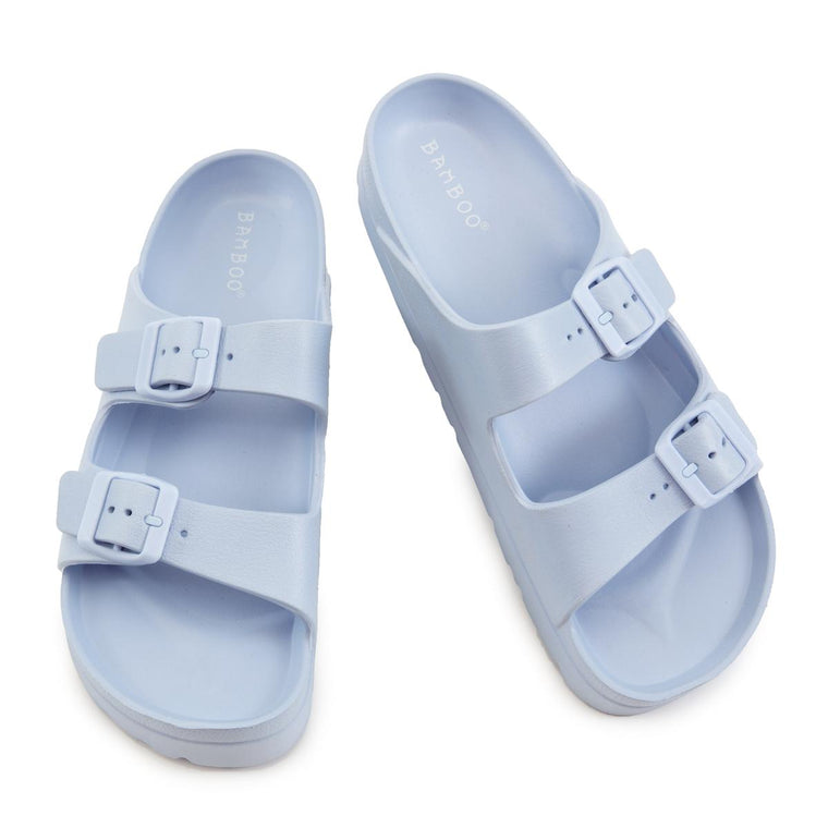 Glee-01 Platform Jelly Sandals