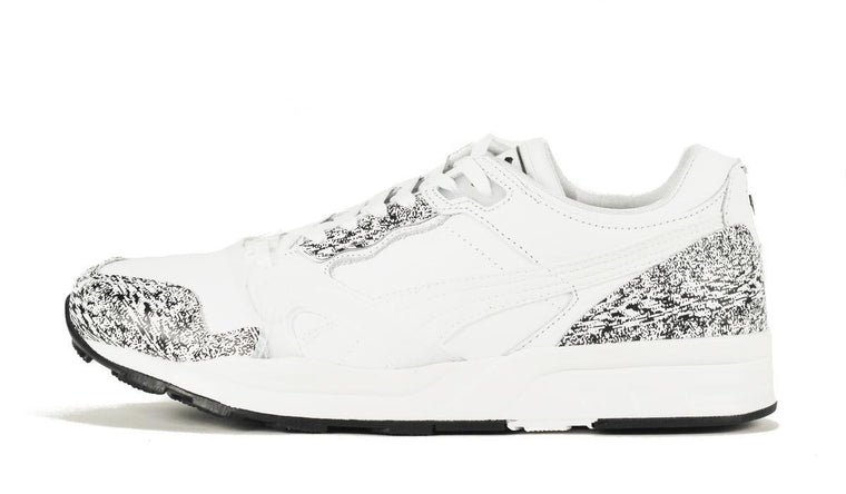 Puma for Men: XT2+ Snow Splatter Pack White Black Sneaker