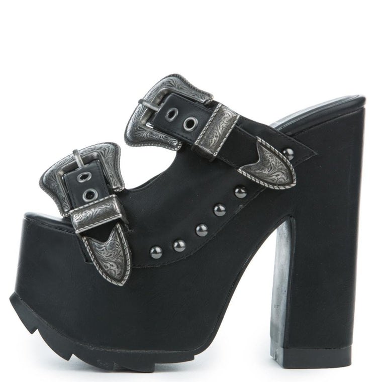 Women's Dreamr Black Platform Heel