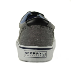 Sperry Top-Sider for Men: Striper CVO Chambray Black Sneakers