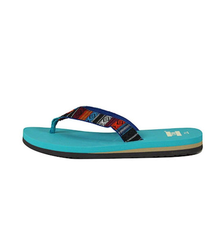 Toms for Kids: Verano Blue Woven Textile