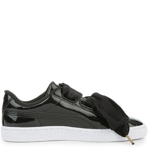Women's Basket Heart Patent Sneaker