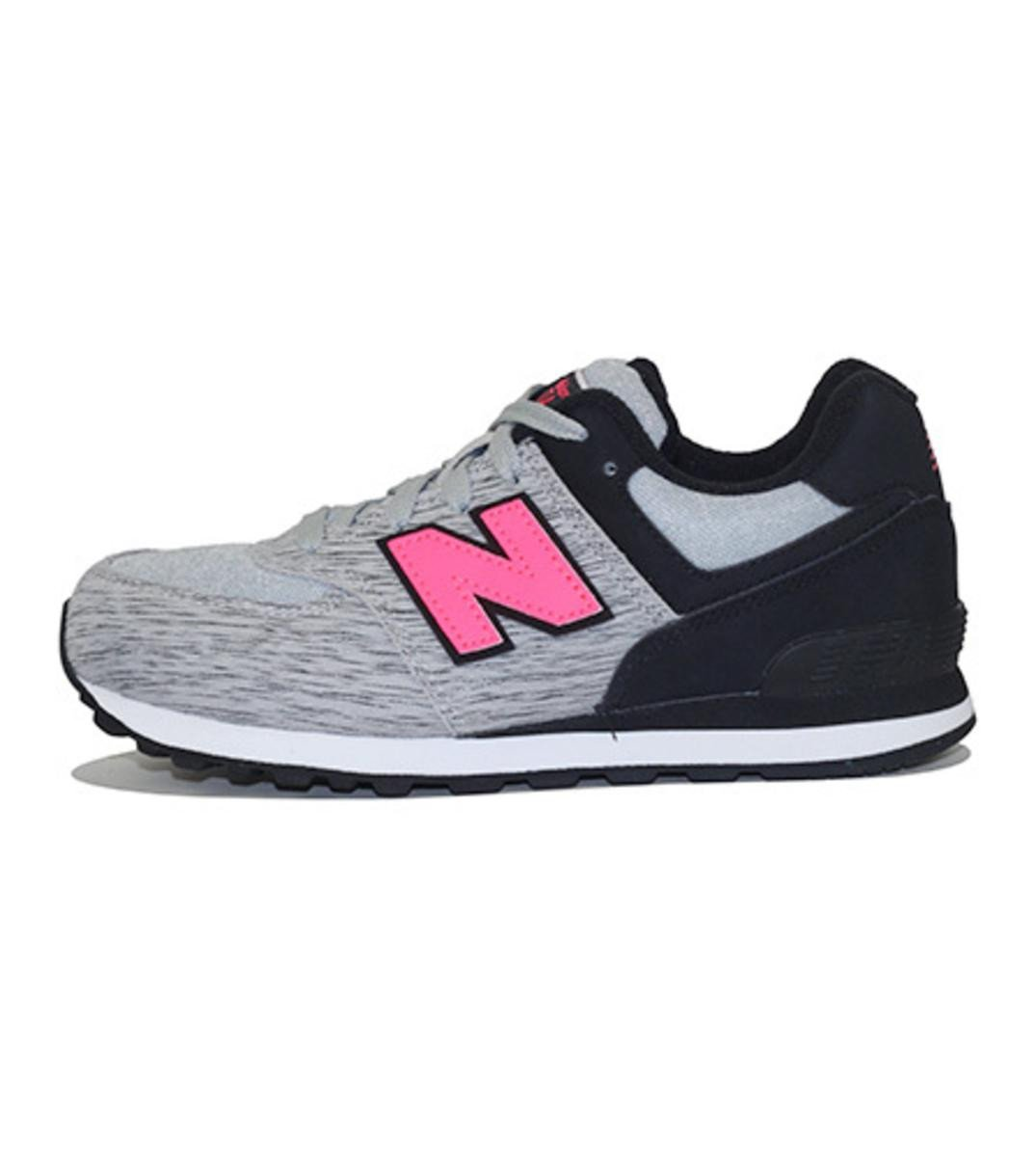 New Balance for Pre-School: 574 Sweatshirt Grey Sneakers