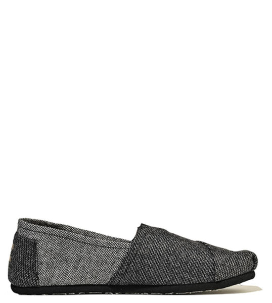 Men's Classic Movember Grey Herringbone Mix