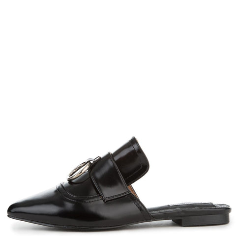 Cape Robbin Cell-14 Women's Black Mules