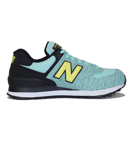 New Balance for Women: 574 Sweatshirt Aqua Sneakers