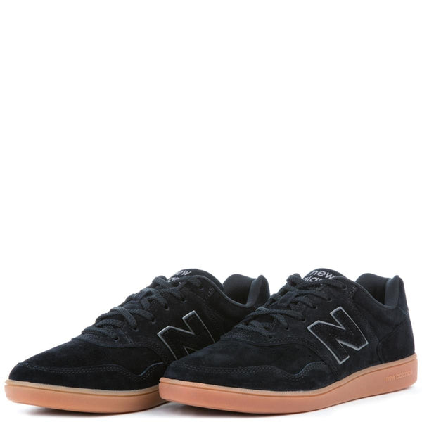 Men's 288 Suede Black with Gum Sneakers