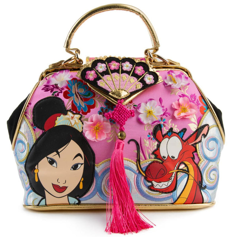 Disney's Mulan x Irregular Choice Let Dreams Blossom Bags
