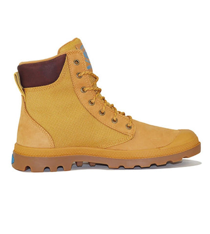 Palladium for Men: Pampa Sport Cuff Amber Gold Boot