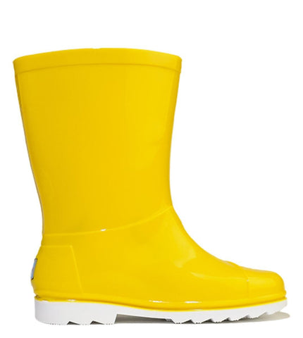 Kids Toms Rain Boot Yellow PVC