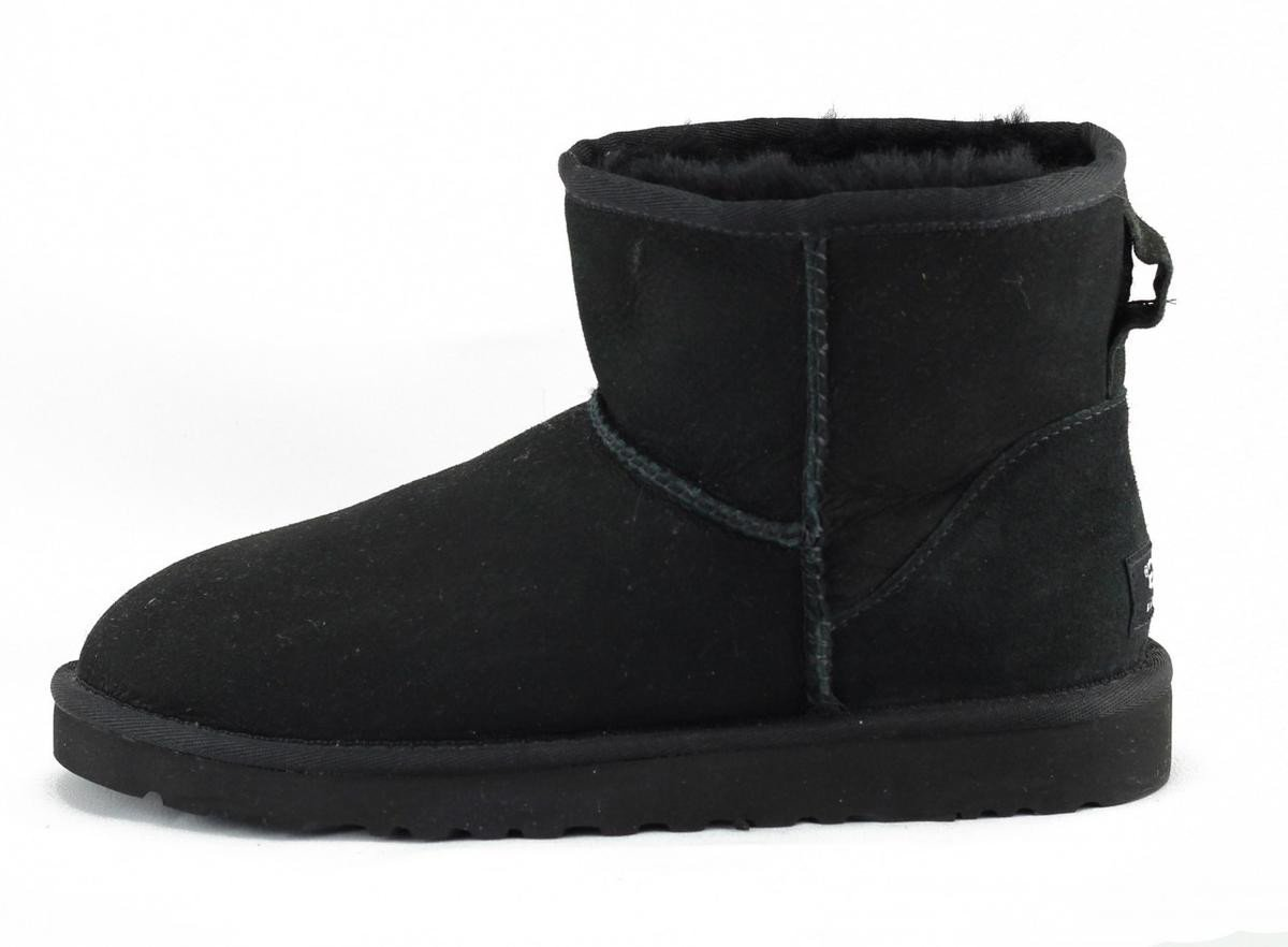 UGG Australia for Women: Classic Mini Black Boot