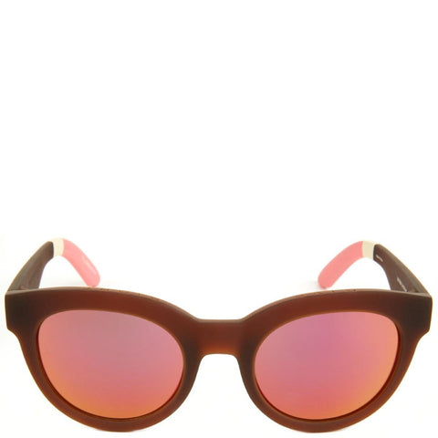 Toms: Traveler Florentin Matte Brown Sunglasses
