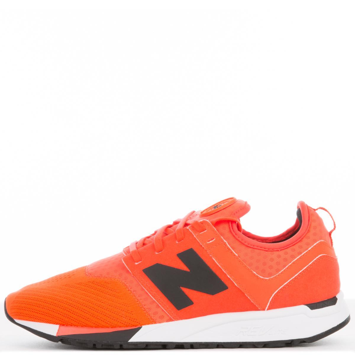 Men's 247 Sport Orange/Black Sneakers