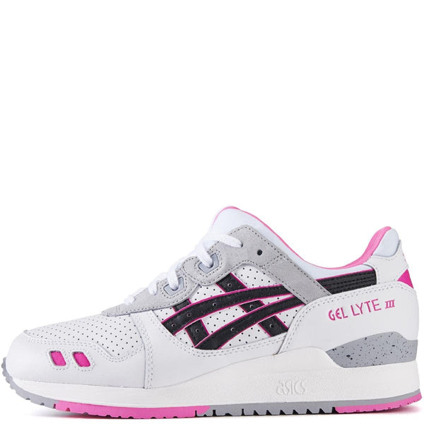 separation shoes 01f8c 48a2b asics for Women: Gel-Lyte III White/Black Running Shoes