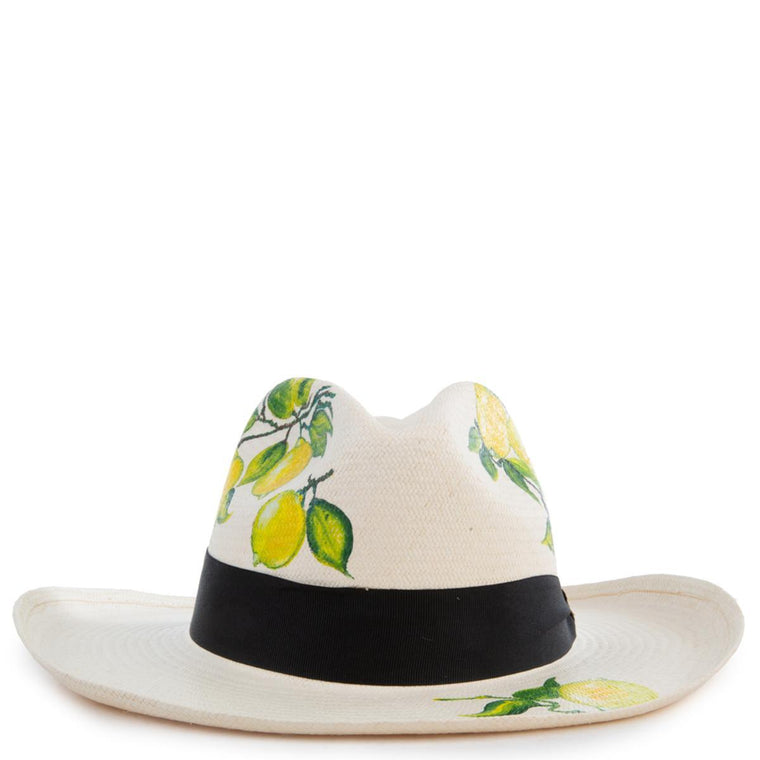 Little Lemons Panama Hat Size M