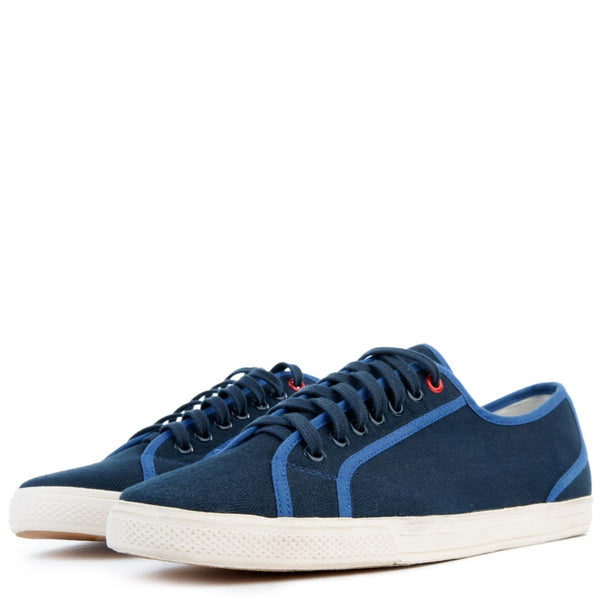 Breckon Low Canvas Sneakers