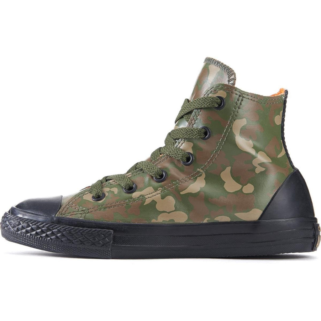 7804131f36c3 Converse for Kids  Chuck Taylor All Star Rubber Green Camo Sneakers