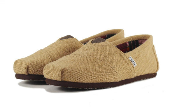 Men's Classic Natural Burlap