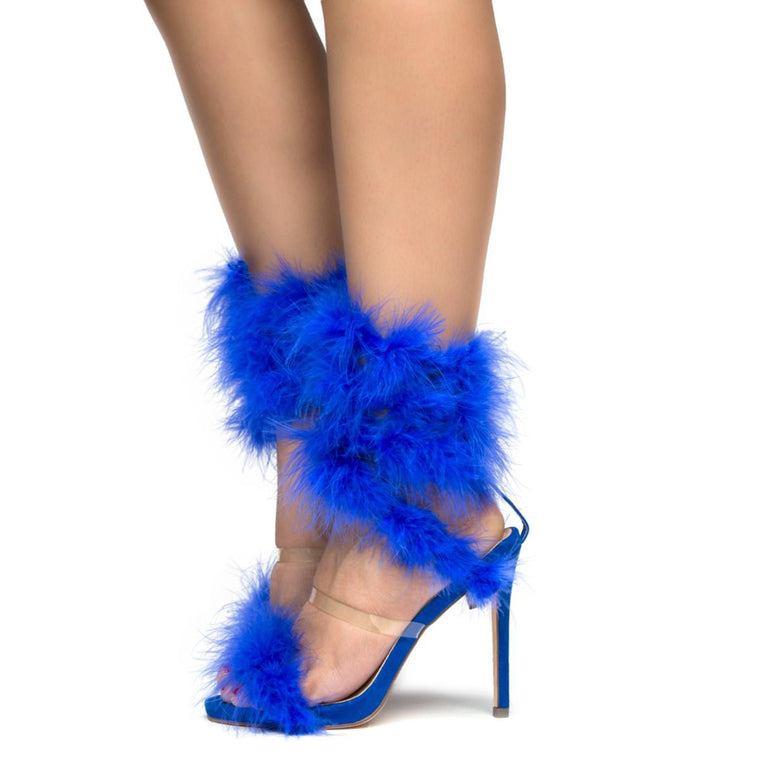 FEATHER HIGH HEELS