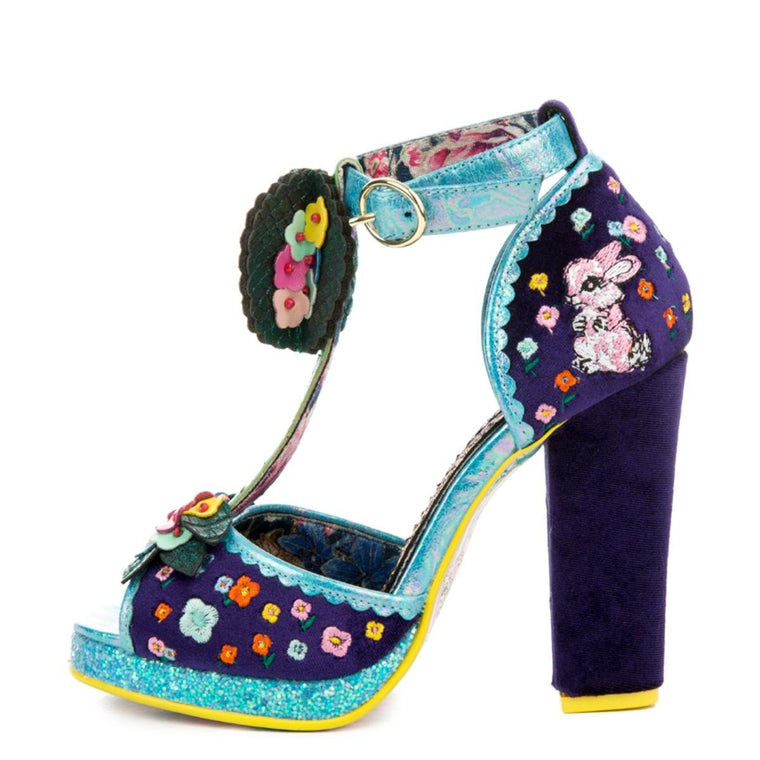 Women's May Meadow Navy High Heels
