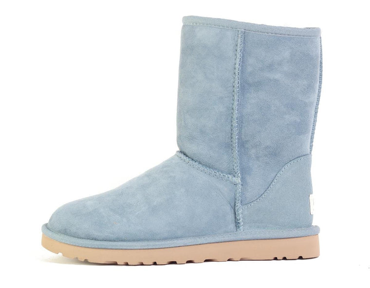 UGG Australia for Women: Classic Short Dolphin Blue Boot