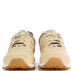 New Balance for Men: 574 Callegiate Linseed with Dust & Basin Sneakers