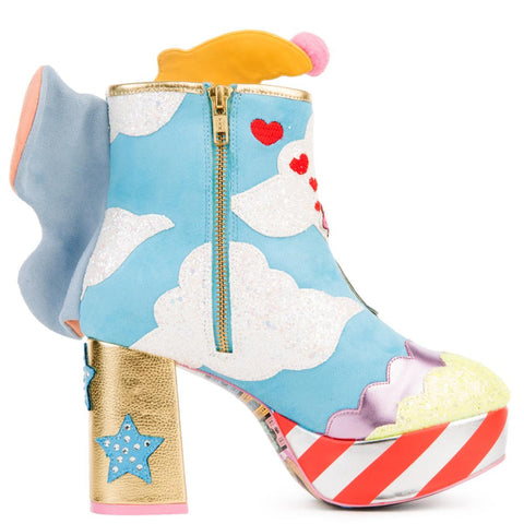 Disney's Dumbo x Irregular Choice Sweet Little Dumbo High Heel Boots