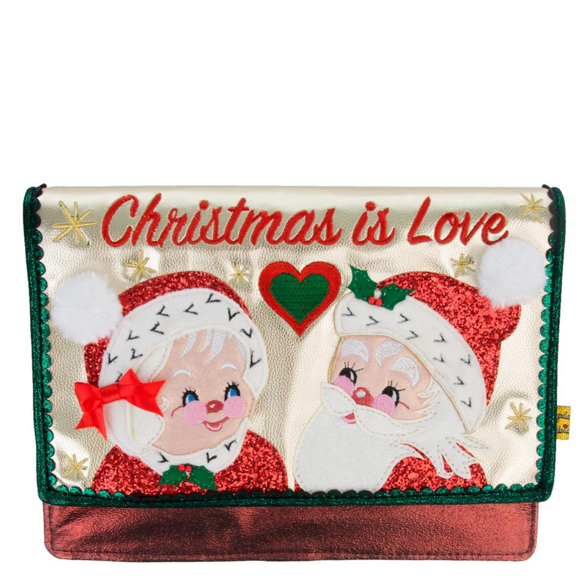 Christmas Is Love Clutch
