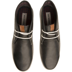 Ben Sherman for Men: Vance Navy Leather Chukka Boots