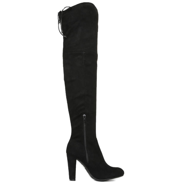 Women's Amaya-01 High Heel Lace-Up Boot