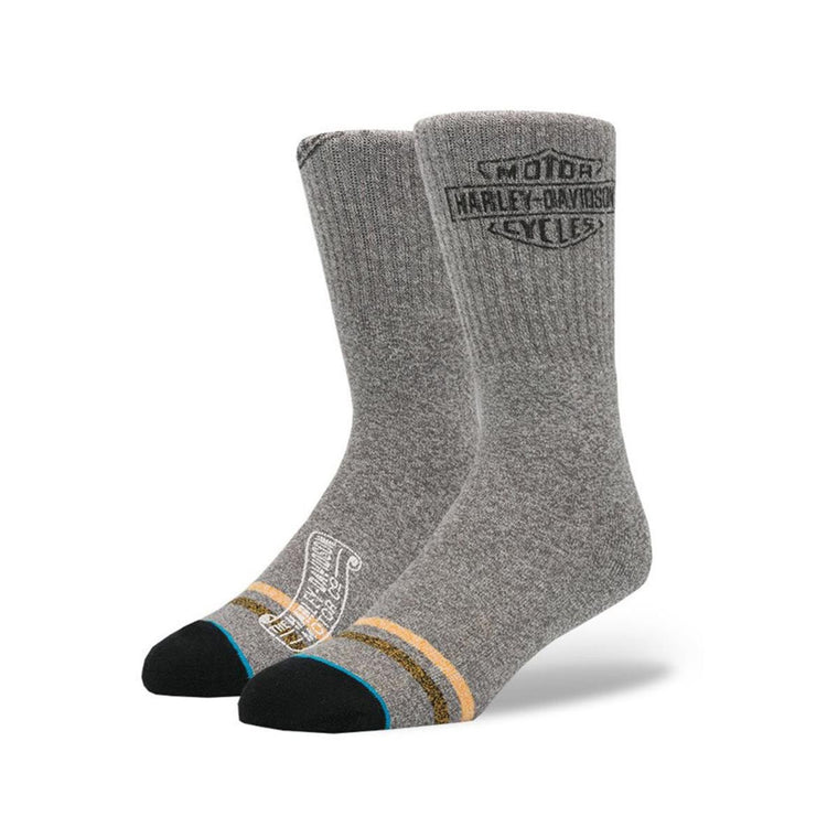 Stance: Open Road Grey Socks
