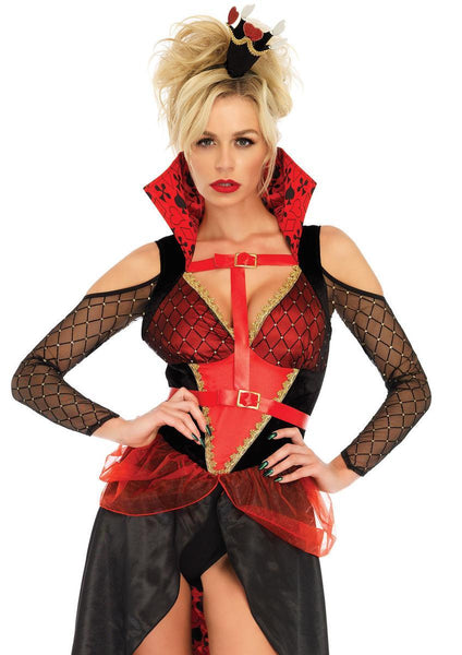 3PC.Rebel Red Queen,harness bo