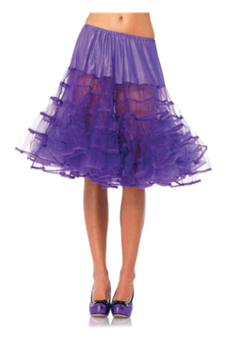 Mid-Length Petticoat in PURPLE