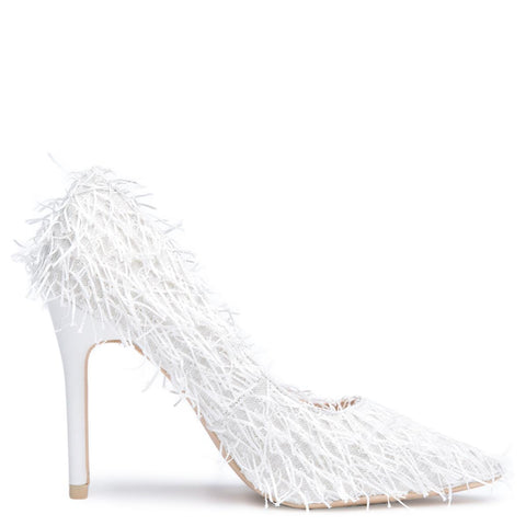 Cape Robbin Kitana-53 White Women's High Heel