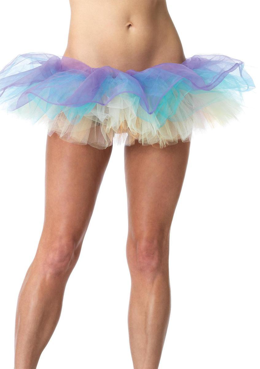 Pastel multi-color tutu in MULTICOLOR
