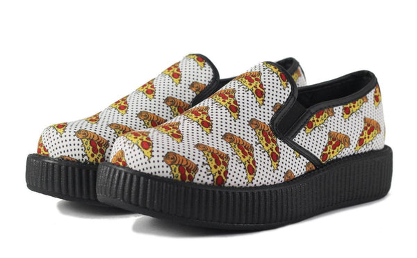 T.U.K for Women: Pizza Slip-On Creepers