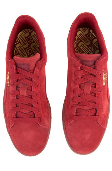 The Suede Classic Tonal in Red Dahlia