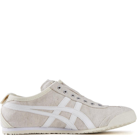 Onitsuka Tiger for Men: Mexico 66 Off White Slip-Ons