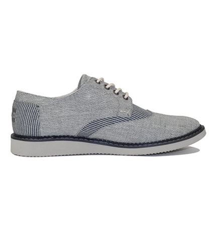 Toms for Men: Brogue Grey Chambray