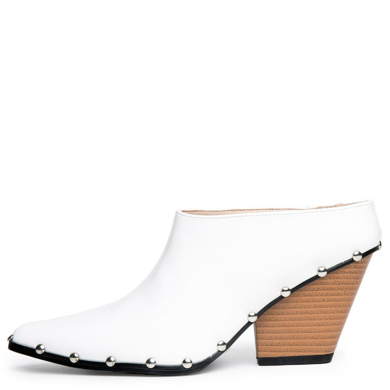 Cape Robbin Kelsey-19 Women's White Booties
