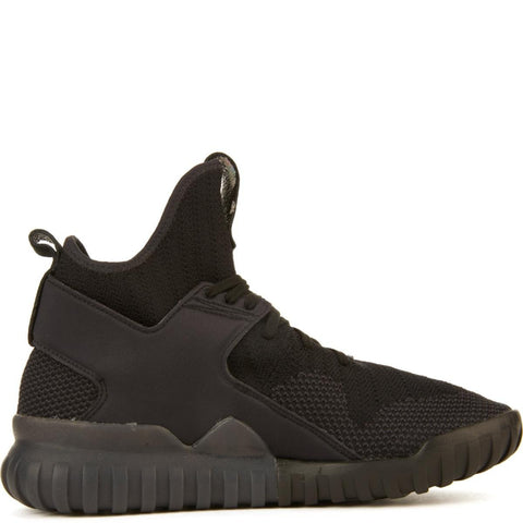 adidas Unisex: Tubular X Black/Grey/Core Black Primeknit Sneakers