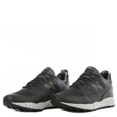 New Balance for Men: Fresh Foam Trailbuster Black and Grey Sneakers