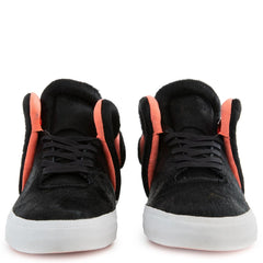 Supra: Falcon Pony Hair Black Sneaker