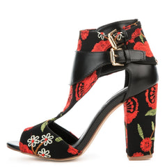 Cape Robbin Lisa-33 Floral Women's High Heel